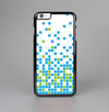 The Green and Blue Mosaic Pattern Skin-Sert Case for the Apple iPhone 6 Plus