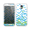 The Green and Blue Mosaic Pattern Skin For the Samsung Galaxy S5