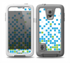 The Green and Blue Mosaic Pattern Skin Samsung Galaxy S5 frē LifeProof Case