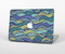 "The Green and Blue Stain Glass Skin Set for the Apple MacBook Pro 15"" with Retina Display"