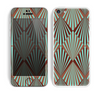 The Green and Brown Diamond Pattern Skin for the Apple iPhone 5c