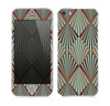 The Green and Brown Diamond Pattern Skin for the Apple iPhone 5s