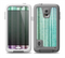 The Green and Purple Dyed TextileSkin for the Samsung Galaxy S5 frē LifeProof Case