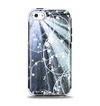 The Green and White Light Arrays with Glowing Vines Apple iPhone 5c Otterbox Symmetry Case Skin Set