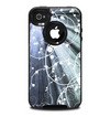 The Green and White Light Arrays with Glowing Vines Skin for the iPhone 4-4s OtterBox Commuter Case
