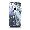 The Green and White Light Arrays with Glowing Vines Skin for the iPhone 5c OtterBox Commuter Case