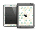 The Green and Yellow Layered Vintage Hexagons Apple iPad Air LifeProof Fre Case Skin Set