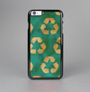 The Green and Yellow RECYCLE Pattern V2 Skin-Sert Case for the Apple iPhone 6 Plus