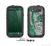 The Green layer on White Aged Wood  Skin For The Samsung Galaxy S3 LifeProof Case