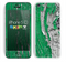 The Green layer on White Aged Wood  Skin for the Apple iPhone 5c