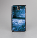The Grunge Blue Wood Planks Skin-Sert Case for the Samsung Galaxy Note 3