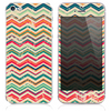 The Grunge Chevorn Color Pattern Skin for the iPhone 3, 4-4s, 5-5s or 5c