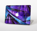 "The Grunge Dark Blue Painted Overlay Skin Set for the Apple MacBook Pro 15"" with Retina Display"