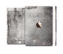 The Grunge Gray Surface Full Body Skin Set for the Apple iPad Mini 3