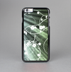 The Grunge Green Rays of Light with Glowing Vine Skin-Sert Case for the Apple iPhone 6 Plus