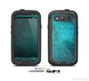 The Grunge Green Textured Surface Skin For The Samsung Galaxy S3 LifeProof Case