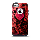 The Grunge Love Rocks Skin for the iPhone 5c OtterBox Commuter Case