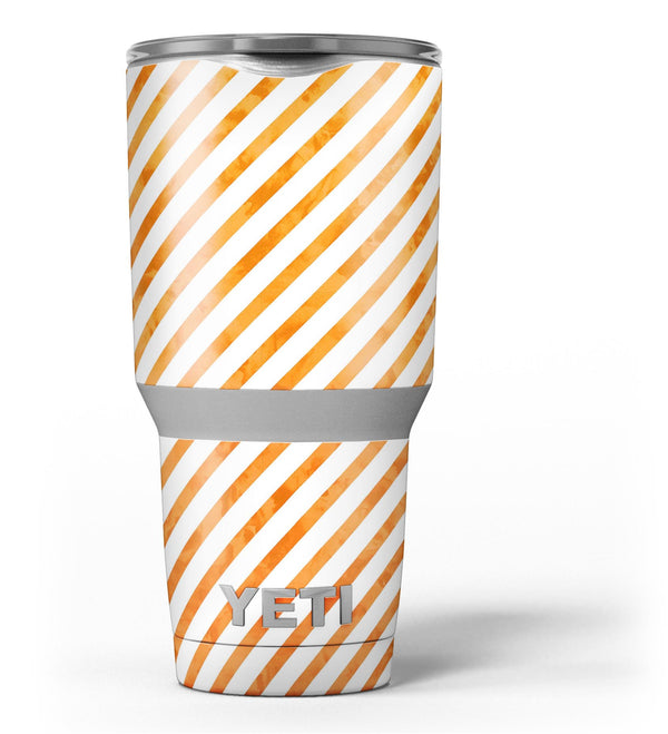 The_Grunge_Orange_and_White_Slanted_Lines_-_Yeti_Rambler_Skin_Kit_-_30oz_-_V3.jpg
