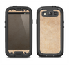 The Grunge Tan Surface Samsung Galaxy S3 LifeProof Fre Case Skin Set
