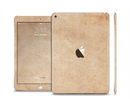 The Grunge Tan Surface Skin Set for the Apple iPad Pro