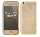 The Grunge Tan Surface Skin for the Apple iPhone 5c