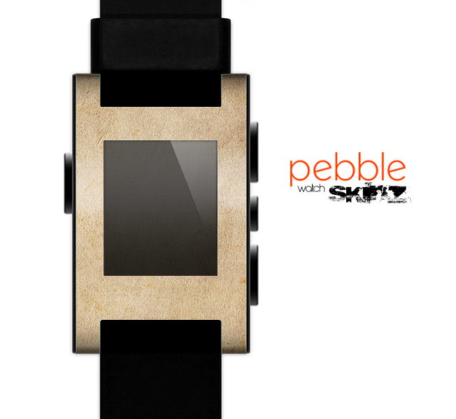 The Grunge Tan Surface Skin for the Pebble SmartWatch es