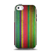 The Grunge Thin Vibrant Strips Apple iPhone 5c Otterbox Symmetry Case Skin Set