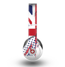 The Grunge Vector London England Flag Skin for the Beats by Dre Original Solo-Solo HD Headphones