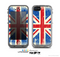 The Grunge Vintage Textured London England Flag Skin for the Apple iPhone 5c LifeProof Case