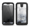 The Grunge White & Gray Texture Samsung Galaxy S4 LifeProof Fre Case Skin Set