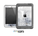 The Grunge White & Gray Texture Skin for the Apple iPad Mini LifeProof Case