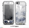 The Grunge White & Gray Texture Skin for the iPhone 5-5s NUUD LifeProof Case for the LifeProof Skin