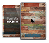 The Vintage Wood Planks Skin for the iPad Air