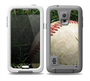 The Grunge Worn Baseball Skin for the Samsung Galaxy S5 frē LifeProof Case