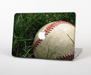 "The Grunge Worn Baseball Skin Set for the Apple MacBook Pro 15"" with Retina Display"