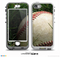 The Grunge Worn Baseball Skin for the iPhone 5-5s NUUD LifeProof Case for the lifeproof skins