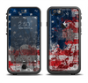 The Grungy American Flag Apple iPhone 6/6s Plus LifeProof Fre Case Skin Set
