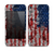 The Grungy American Flag Skin for the Apple iPhone 4-4s