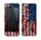 The Grungy American Flag Skin for the Apple iPhone 5