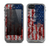 The Grungy American Flag Skin for the Apple iPhone 5c LifeProof Fre Case