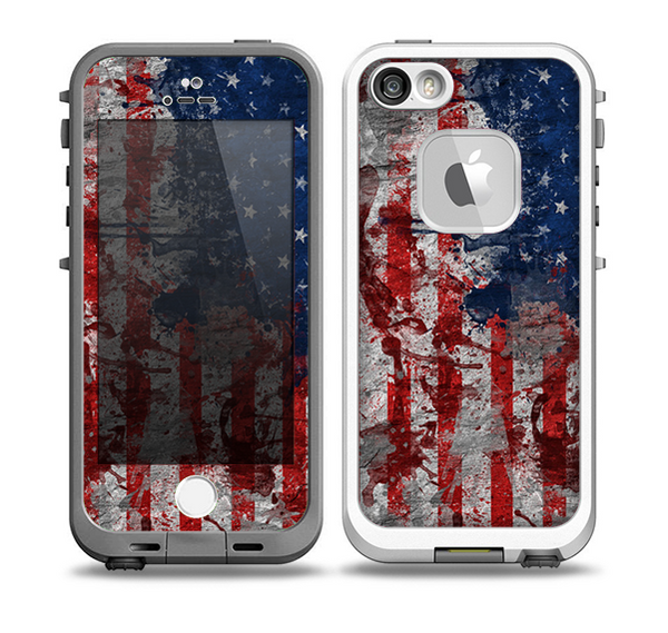 american flag iphone case the grungy american flag skin for the iphone 5 5s frē 3324