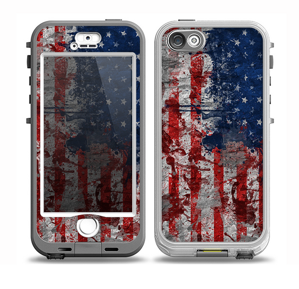 american flag iphone 5s case the grungy american flag skin for the iphone 5 5s n 252 252 d 16569