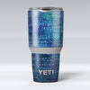 The_Grungy_Blue_Green_Stars_Surface_-_Yeti_Rambler_Skin_Kit_-_30oz_-_V1.jpg