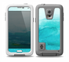 The Grungy Blue Watercolor Surface Skin for the Samsung Galaxy S5 frē LifeProof Case