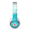 The Woven Blue Sharp Chevron Pattern V3 Skin for the Beats by Dre Studio (2013+ Version) Headphones