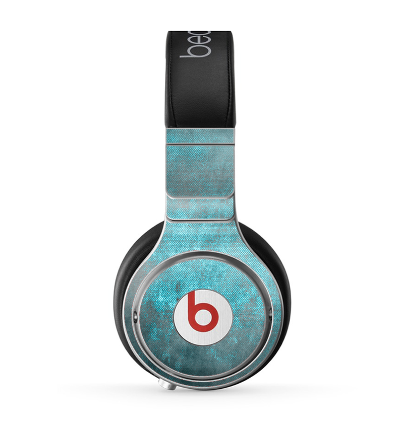 The Grungy Bright Teal Surface Skin for the Beats by Dre ...