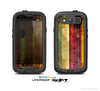 The Grungy Color Stripes Skin For The Samsung Galaxy S3 LifeProof Case