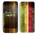 The Grungy Color Stripes Skin for the Apple iPhone 5c