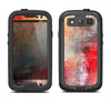 The Grungy Colorful Faded Paint Samsung Galaxy S3 LifeProof Fre Case Skin Set