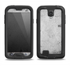 The Grungy Concrete Textured Surface Samsung Galaxy S4 LifeProof Fre Case Skin Set